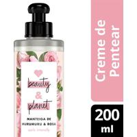 Creme Para Pentear Love Beauty & Planet Manteiga De Murumuru & Rosa 200Ml