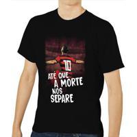 Camiseta Flamengo Até Que A Morte Nos Separe Masculina - Masculino