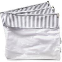 Conjunto Com 3 Saquinhos De Mala Bubble Cinza - Masterbag Baby