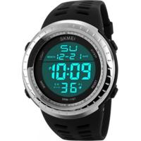Relógio Skmei Digital 1167 Prata
