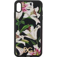 Dolce & Gabbana Capa Para Iphone Xs Max Com Estampa - Preto