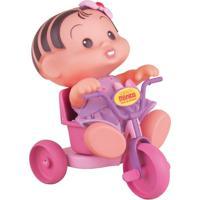 Turma Da Mônica - Boneca Mônica No Triciclo - Multibrink - Feminino-Incolor