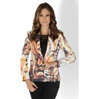 Blazer Lança Perfume Fashion Collection Animal Print