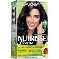 Coloração Nutrisse Garnier 10 Ônix Preto - Unissex