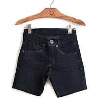 Bermuda Jokenpô Infantil Jeans Dark - Masculino