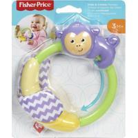 Fisher Price Safári De Mordedores Macaco - Mattel