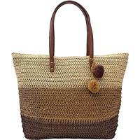 Bolsa Its! Summer Shopper Palha