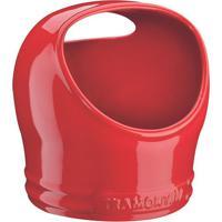 Saleiro Cerâmico- Vermelho- 18,2Xø16Cmtramontina