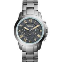 Relógio Fossil - Fs5185 - Masculino-Cinza