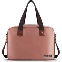 Bolsa Jacki Design P/ Viagem/Academia - Unissex-Rosa