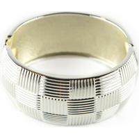 Pulseira Bracelete Le Claire Redondo Prata