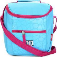 Bolsa Términa Wilson Lancheira - Feminino-Azul+Rosa