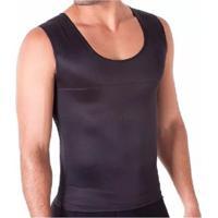 Kit Com 05 Cintas Redutora Masculina E Postural Slim Fitness Preta