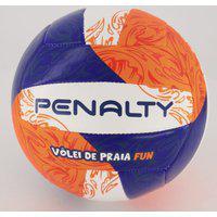 Bola Vôlei De Praia Penalty Fun Xxi Laranja E Azul