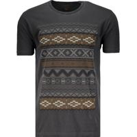 Camiseta Rusty Aztek Preta
