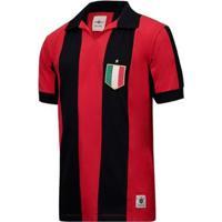 Camisa Milan Retrô Anos 80 Masculina - Masculino