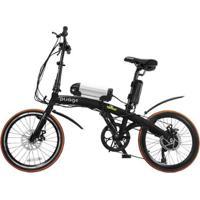 Bicicleta Elétrica Dobrável Two Dogs Pliage - Unissex