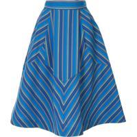 Rosie Assoulin Batman Skirt - Azul
