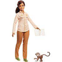 Boneca Barbie - Barbie National Geographic - Conservadora Da Vida Selvagem Gdm44
