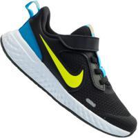 Tênis Nike Revolution 5 Psv - Infantil - Preto/Azul