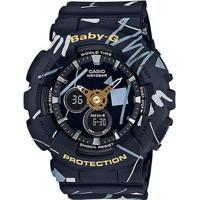 Relógio Casio Baby-G Ba-120Sc-1Adr Feminino - Feminino-Preto