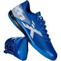 Chuteira Oxn Velox 2 Futsal Azul