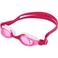 Óculos De Natação Oxer Oxfun Colors - Infantil - Rosa Escuro