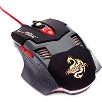 Mouse Gamer 2500Dpi 8 Botões C/ Botão Duplo Gx-800 Hoopson