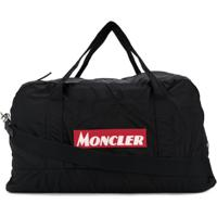 Moncler Logo Patch Holdall - Preto