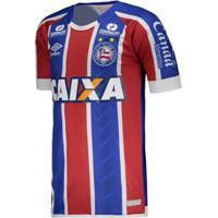 47d4c2c2756ca Netshoes  Camisa Umbro Bahia Oficial 2 2017 2018 Masculina - Masculino