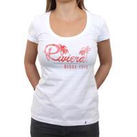 Riviera Vintage - Camiseta Clássica Feminina