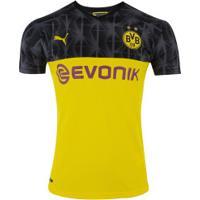Camisa Borussia Dortmund Iii 19/20 Puma - Masculina - Amarelo