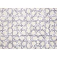 Dhurie Moroccan 3 White/Purple