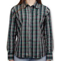 Camisa Xadrez Stouro - Verde Militar