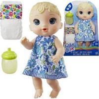 Boneca Baby Alive Hora Do Xixi Hasbro - Feminino-Azul