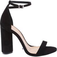 Sandália Gisele Cylinder Heel Black | Schutz