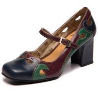 Sapato Sophia Passiflora/Esmeralda /Acai 5939