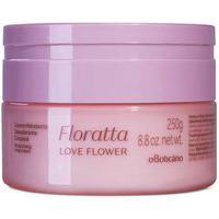Floratta Love Flower Creme Desodorante Hidratante Corporal, 250 G