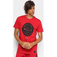 Camiseta New Era Chicago Bulls Essentials Stamp Masculina - Masculino