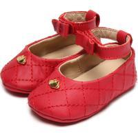 Sapato Lilica Ripilica Menina Vermelho