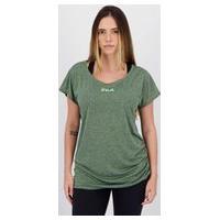 Camiseta Fila Drapped Ii Feminina Verde