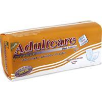 Absorvente Geriátrico Unissex Premium Adultcare 20 Unidades