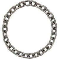 Jack Vartanian Colar 'Chain P' Prata Com Ródio Negro - Prateado