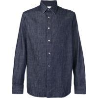 Paul Smith Camisa Jeans - Azul