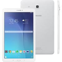 """Tablet Samsung Galaxy Tab E 9.6"""" 8Gb Sm-T561 Branco"""