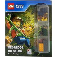 Livro Infantil - Lego City - Segredos Da Selva - Happy Books