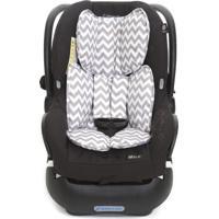 Capa Para Bebê Conforto Momis Petit Chevron Cinza