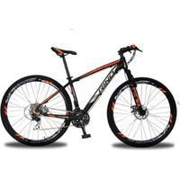 Bicicleta Aro 29 Rino Everest Freio A Disco - Cambios Shimano 24V Com Trava - Unissex