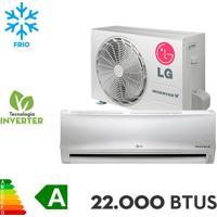 Ar Condicionado Split Lg 22.000 Btus Libero E+ Inverter V Frio - Us-Q242Csg3