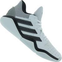 Tênis Adidas Harden Stepback - Masculino - Branco/Cinza